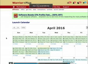 WarriorPlus product launch calendar2