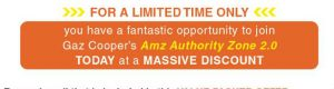 AMZ discount offer