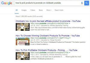 Clickbank youtube