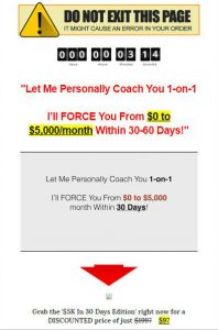 Coaching upsell and cost