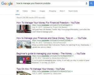 How to manage your finances youtube