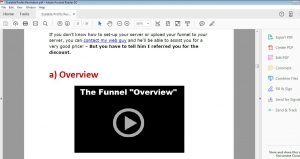 Missing detail about funnel creation pdf