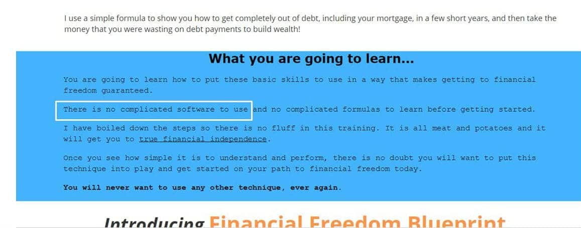 Financial freedom blueprint review is it profitable or not click to zoom malvernweather Gallery