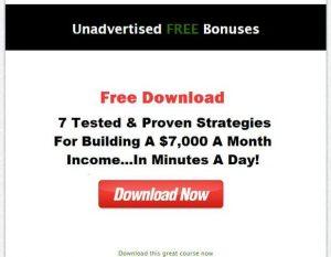 Unadvertised bonuses