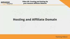 Affiliate domain