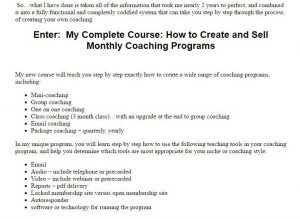 Coaching course2