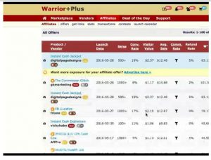 How to promote product on warriorplus