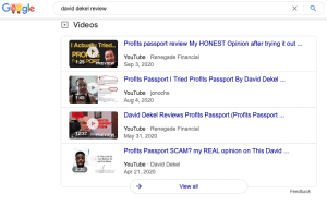 David Dekel Reviews on Google