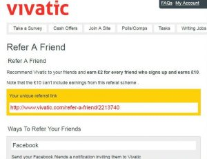 Refer a friend and earn 2 dollars after they earn 10 dollars