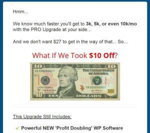 Lazy Profit Explosion Upsell 2