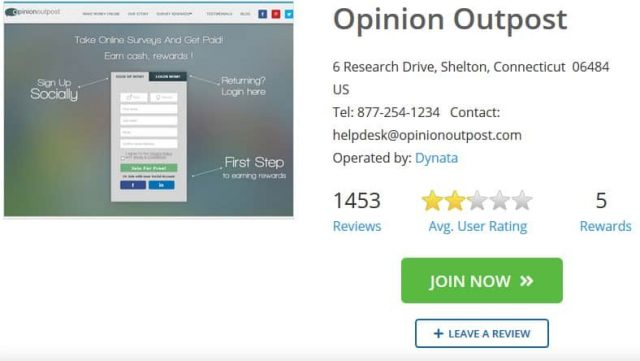 opinion outpost review ratings