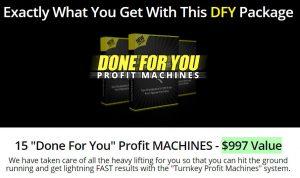 Turnkey Profit Machines Upsell 3