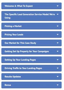Simple Local Lead Generation Content