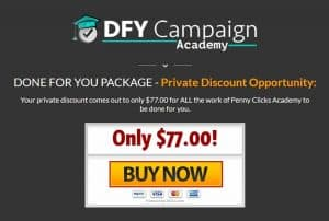 Penny Clicks Academy Upsell 1