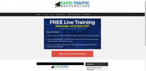 Rapid Traffic Masterclass Membership Site