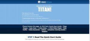 Video Titan Membership Site