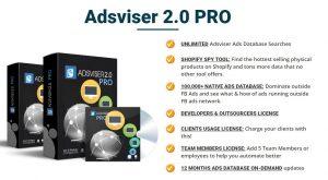 Adsviser 2.0 Upsells 1