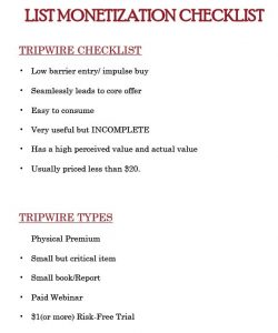 The Ultimate Instant Cash Arsenal Tripwire Products