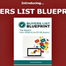 Buyers List Blueprint Review Featured Image