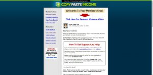 Copy Paste Income Membership Site