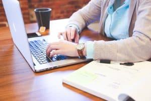start an online on laptop