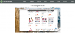collecting products for dropshipping using Shopified