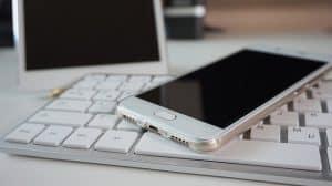 smartphone tablet keyboard