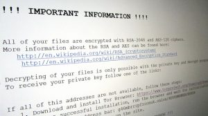 How To Design Your Own Blog: ransomware instructions