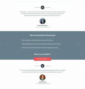 KlientBoost Landing Page Testimonials