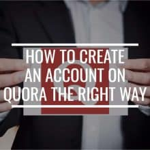How To Create An Account On Quora