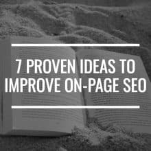 Improve On-Page SEO