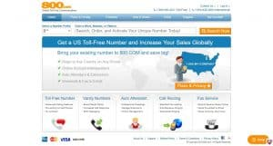 800.com homepage