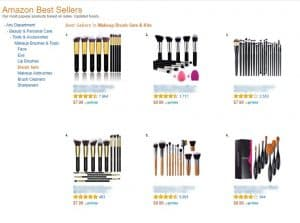 Amazon Best Sellers example