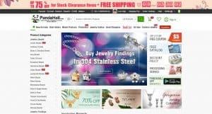 PandaHall homepage