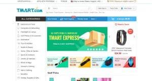 Tmart homepage