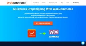 WooDropship homepage