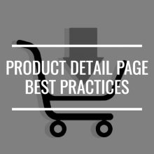 Product Detail Page Best Practices