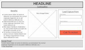 Basic Landing Page