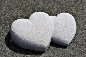 stone hearts