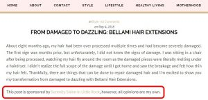 """screenshot of """"From Damaged To Dazzling: Bellami Hair Extensions"""" by Maune Legacy"""