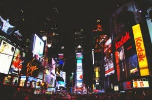 billboards on Times Square, New York City, USA