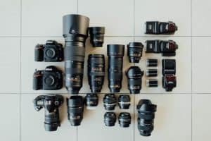 DSLR bodies and lenses