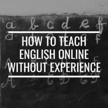 How To Teach English Online Without Experience