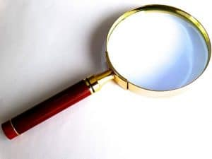 classic magnifying glass