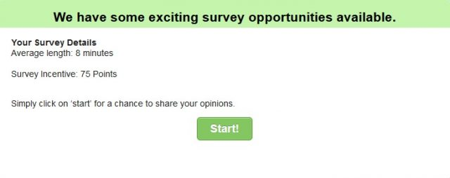 first acop survey