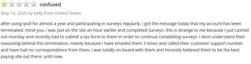 ipoll customer review 1