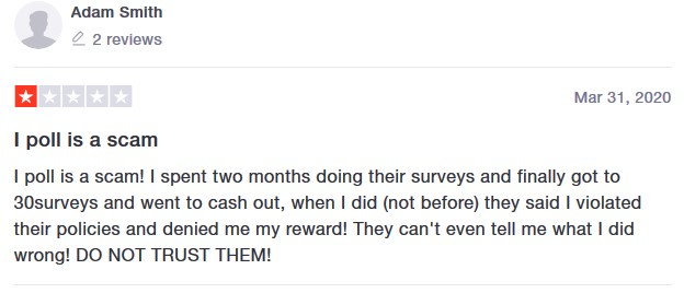 ipoll customer review 2