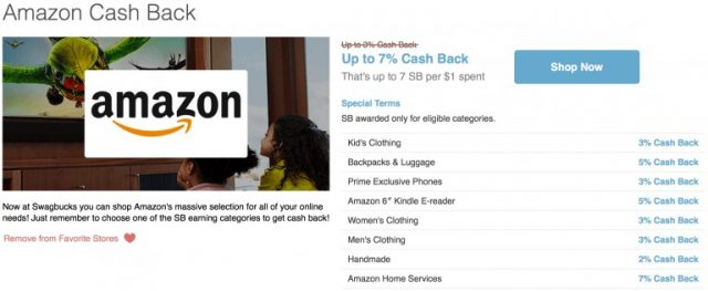 swagbucks partners with big retailers and websites