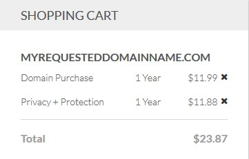 buying domain name in bluehost-how to start a blog with Bluehost