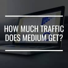 how much traffic does medium get featured image